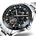 Meilleur prix TEVISE T855 Waterproof Full Steel Automatic Mechanical Watch