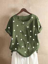 Polka Dots Print T-Shirt