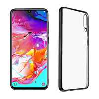 Bakeey Anti-Scratch Transparent Plating Hard PC Protective Case for Samsung Galaxy A70 2019