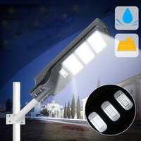 40W 80W 120W Solar Street Light PIR Motion Sensor LED Outdoor Garden P ath Wall Lamp