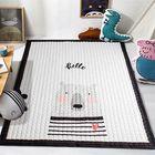 Acheter au meilleur prix 145*195CM Soft Cotton Baby Kid Game Activity Play Crawling Mat Carpet Non-Slip Floor Mat