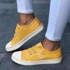 Offres Flash Women Sneakers Canvas Elastic Band Casual Flats
