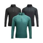 Meilleurs prix Amazfit II Sports Men Long Sleeve Microfiber Hydrophobic Waterproof Quick Drying Winter Warmer Clothing Sweatshirt From Xiaomi Youpin