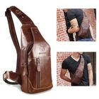 Meilleur prix Bullcaptain Bag Men Genuine Leather Business Casual Bag