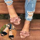 Meilleurs prix Women Strappy Lace Up Fashion Summer Beach Causal Sandals