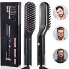 Bon prix 3 in 1 Men & Women Beard Hair Straightening Comb Electric Ceramic Ionic Fast Heating Brush Portable Travel Hair Styling Comb