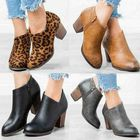 Les plus populaires Clog High Chunky Heel Short Boots