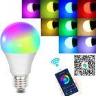 Acheter Fcmila E27 E26 B22 E14 GU10 10W Wifi Smart Bulb RGBW Smart APP Control LED Light Work With Siri Alexa AC85-265V