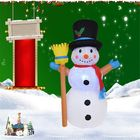 Meilleurs prix 1.2M Inflatable LED Christmas Light Snowman Garden Party Yard Holiday Lamp Outdoor Indoor Decoration AC100-240V