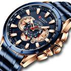 Discount pas cher CURREN 8363 Chronograph Waterproof Men Wrist Watch