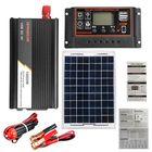 Acheter au meilleur prix 10A-60A Soalr Charge Controller Controller DIY Solar System Kit Solar 1000W Inverter With Solar Panel