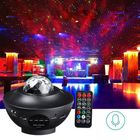 Acheter Multicolor Rotating LED Projector Lamp Star Night Light Music bluetooth with Remote Controller