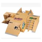 Bon prix Finger Skating Board Toys Children Skateboard Ramp Track Educational Set For Boy Birthday Gifts