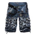 Acheter au meilleur prix Camouflage Loose Tooling Shorts Large Size Multi-pocket Five-point Men's Pants