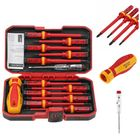 Meilleurs prix 13pcs Electronic Insulated Hand Screwdriver Tools Accessory Set