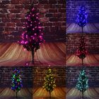 Les plus populaires 50M 220V EU Plug 8 Modes Red Pink LED Fairy String Light Holiday Lamp for Party Festival with Controller