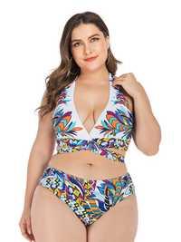 V-Neck Halter Bikini