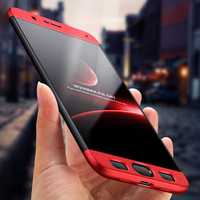 Bakeey 3 in 1 Double Dip Full Body Ultra Thin Shockproof Hard PC Protective Case for Xiaomi Mi Note 3