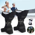 Meilleurs prix 1 Pair Powerful Rebound Spring Force Knee Pad Knee Support Patellar Joints Booster Pain Relief Sports Training Protector