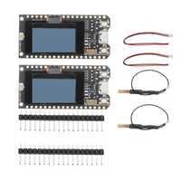 2Pcs LILYGO® TTGO LORA SX1278 ESP32 0.96 OLED Display Module 16 Mt Bytes 128 Mt bit) 433Mhz For Arduino