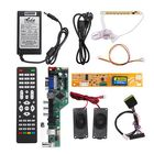 Discount pas cher T.V53.03 Universal LCD LED TV Controller Driver Board +7 Key button+1ch 6bit 30Pins LVDS Cable+1 Lamp Inverter+Speaker+EU Power Adapter