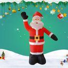 Meilleur prix 2.4M Tall Inflatable Santa Claus Xmas Christmas Decorations Garden Outdoor
