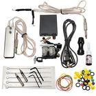 Meilleurs prix Complete Tattoo Machines Power Supply Gun Color Inks Kit Set