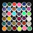 Discount pas cher 36 Pots Glitter Powder UV Builder Gel Nail Art Decoration Set