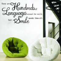 English Proverbs Wall Sticker Decal Wallpaper Home Decor