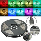 Discount pas cher 5M RGB Non-Waterproof 300 LED SMD5050 LED Strip Light for Indoor Home Decoration DC12V