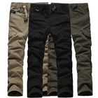 Les plus populaires Mens Multi Pockets Thick Polar Fleece Drawstring Cargo Pants