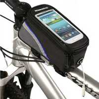 Roswheel Bicycle Bike Frame Front Tube Bag For 4.2 Inch Cell Phone