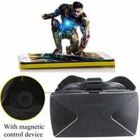 Magnetic Virtual Reality 3D Video Glasses For iPhone Smartphone