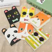 Creative Stationery Cute Cartoon Animal Notebook Diary School Supplies