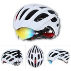Acheter au meilleur prix Bike Bicycle Cycling Riding Helmet MTB Riding Helmet With 3 Goggles