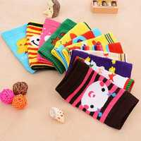 Baby Infant Safety Crawling Short Knee Socks Cartoon Pads Leg Protector Kneepad