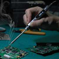 MINI TS100 Digital OLED Programmable Interface DC5525 Soldering Iron Station Built-in STM32 Chip