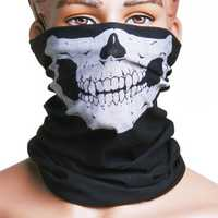 Skull Multi Use Head Wear Hat Scarf Face Mask Motorcycle Cap