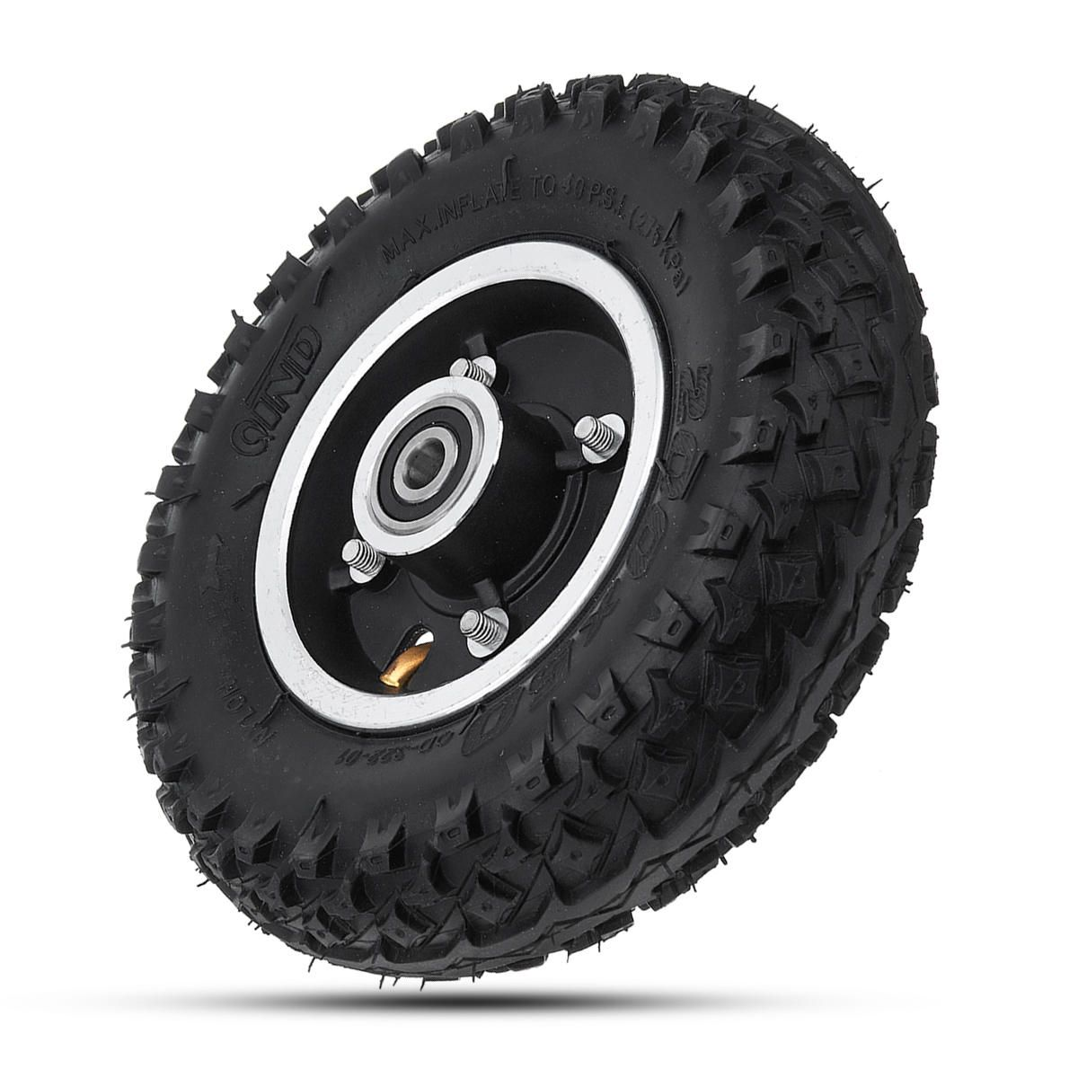 BCK US$26.45 200*50mm Inflatable Longboard Rubber Off Road Wheel For Electrical Skateboard