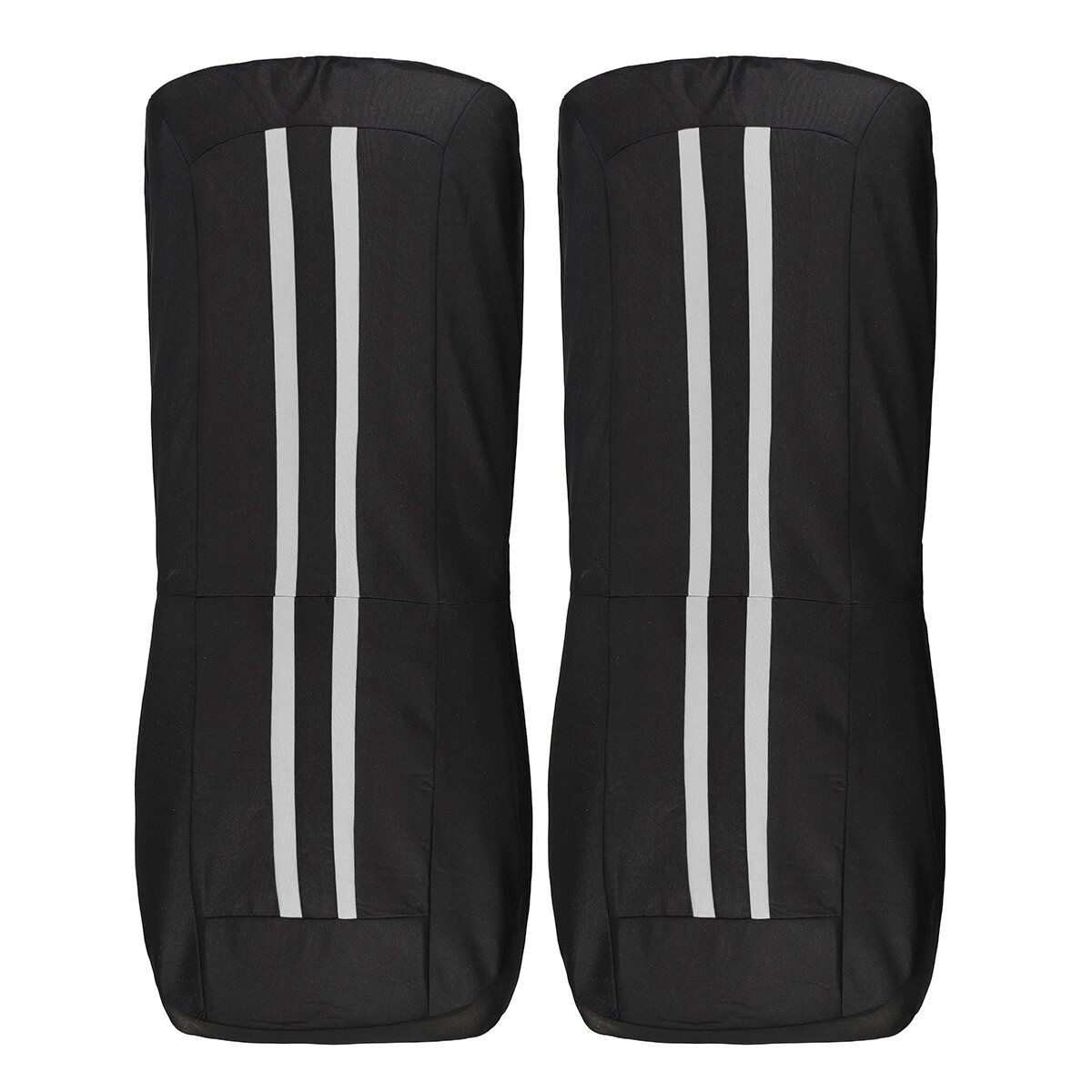 LPB US$29.74 Polyester Fabric Car Front and Back Seat Cover Cushion Protector Universal for Five Seats Car