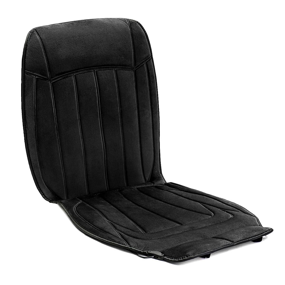 ODP US$31.39 12V Electric Fleeced Car Heated Seat Cushion Cover Seat Heater Warmer Winter Household Mat
