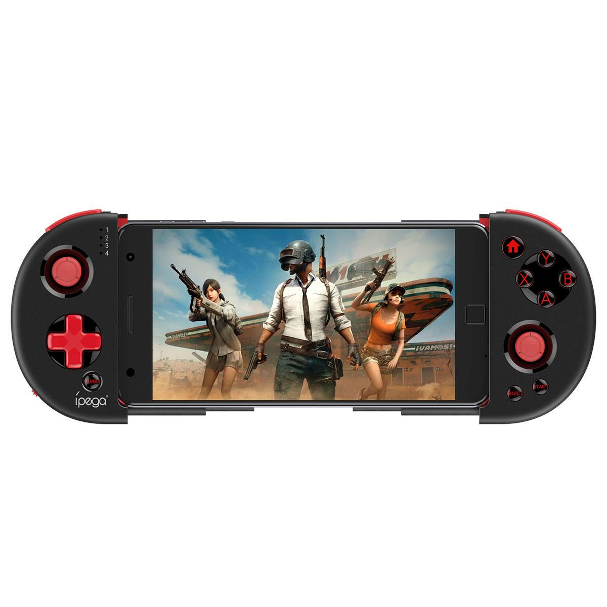 VCK US$27.03  iPega PG-9087S bluetooth Wireless Gamepad Controller for PUBG Mobile Game for iOS Android Phone PC TV Box