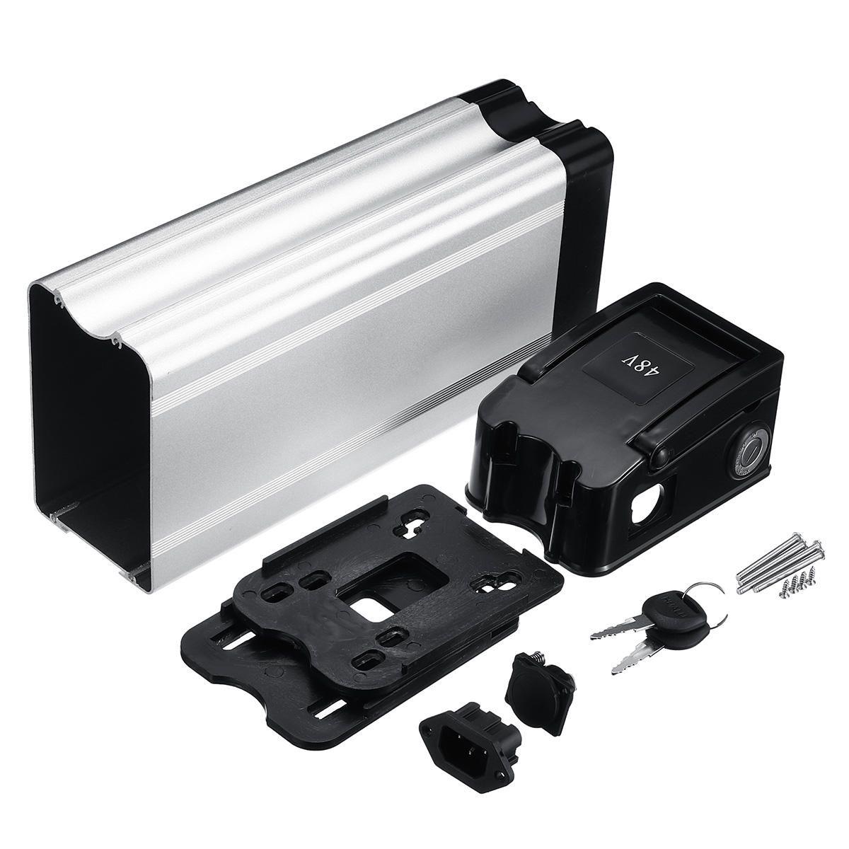 BRF US$37.35 BIKIGHT Electric Battery Storage Box Case E-bike Box Holder For 18650 36V/48V Battery