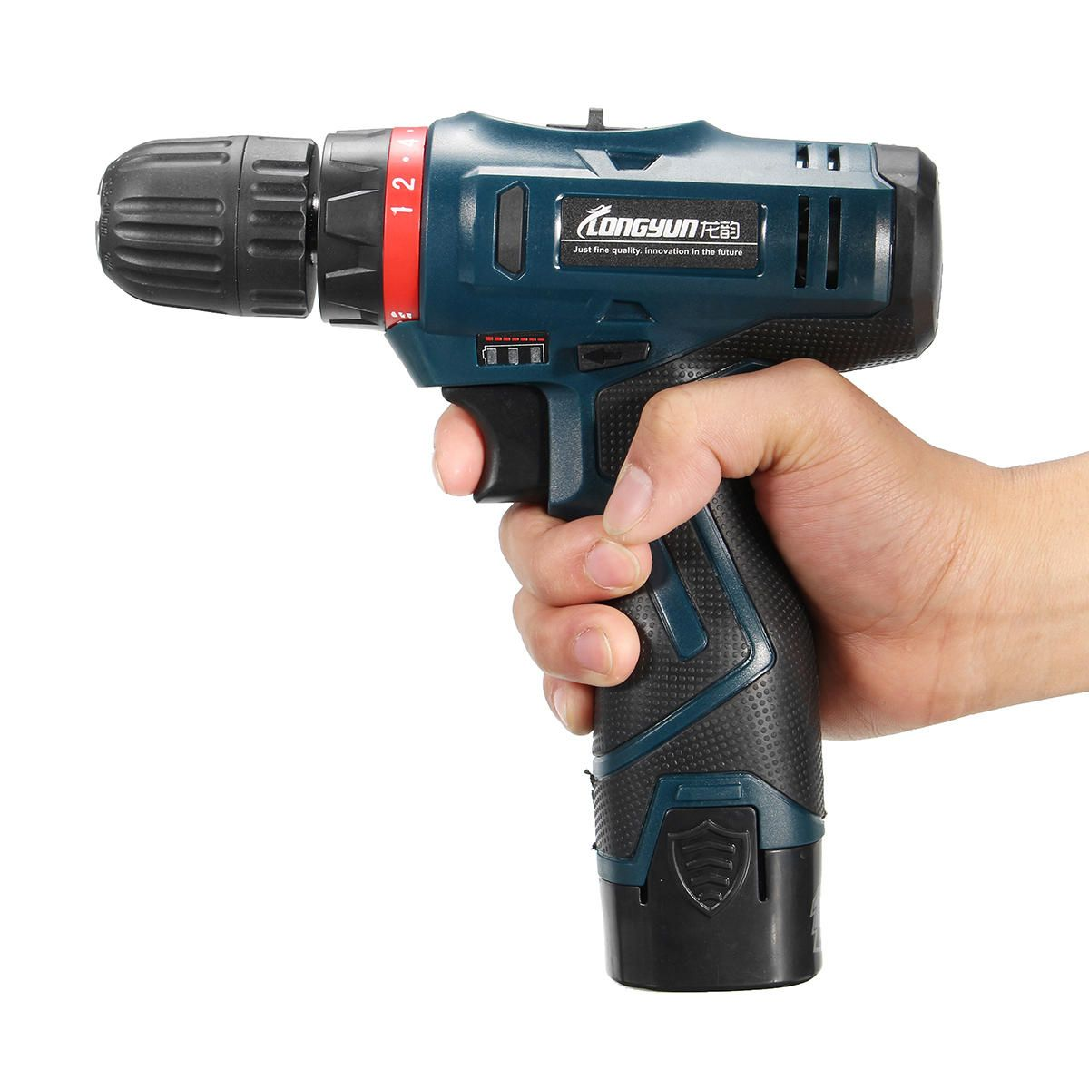 NBU US$58.71 Lomvum 16.8V Electric Cordless Hammer Drill Driver Waterproof Duplex Bearing Auto Lock