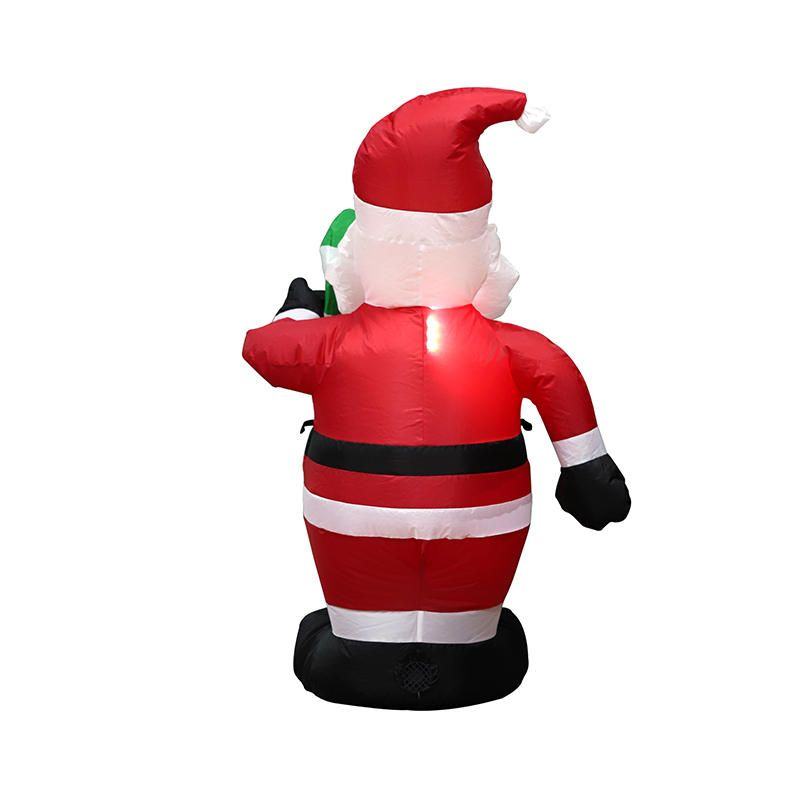 MMJ US$38.99 1.2M Christmas Inflatable Toys Santa Xmas Decoration Outdoor Garden Lights