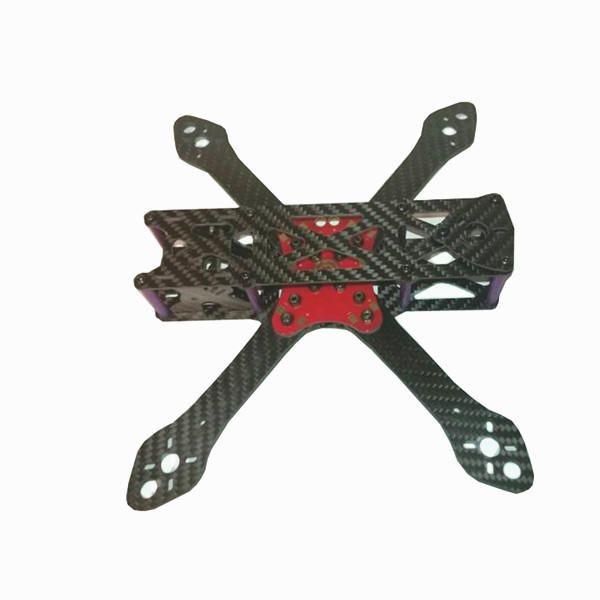 QKK US$29.77 Martian II 220 220mm 4mm Arm Thickness Carbon Fiber Frame Kit w/ PDB For RC Drone