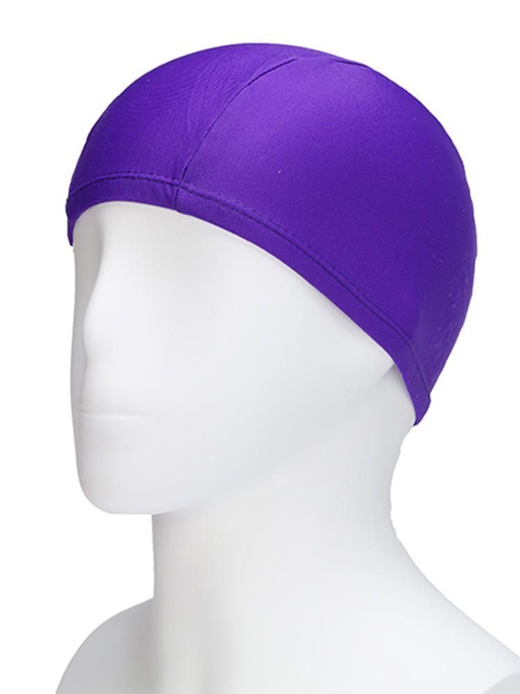 GQU US$3.29 Cozy Waterproof Soft Printed Stretchy Milk Lycra Swimming Cap