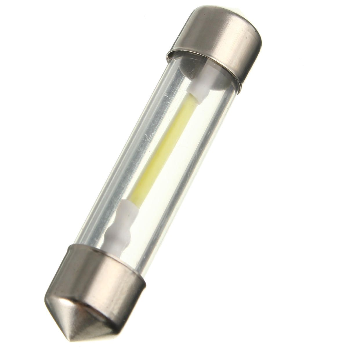 CYV US$2.00 31/36/39/41mm COB LED Festoon Dome Lights License Plate Reading Map Lamp 12V White