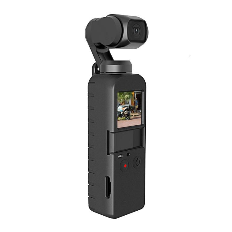 SDA US$5.03 PULUZ PU374 Protector Silicone Cover Protective Case for DJI OSMO Pocket Sport Action Camera