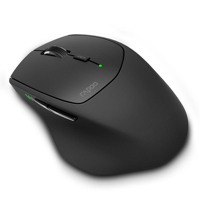 QDB US$32.30 Rapoo MT550 Multi-mode Wireless 2.4G bluetooth 3.0/4.0 Mouse 1600dpi Smart Switch Between 4 Devices